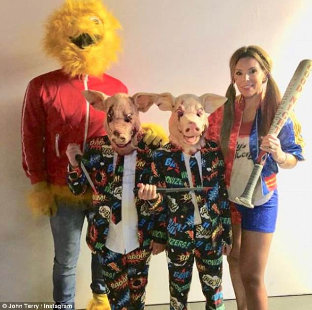 John Terry also attended his former Chelsea team-mates party with his family