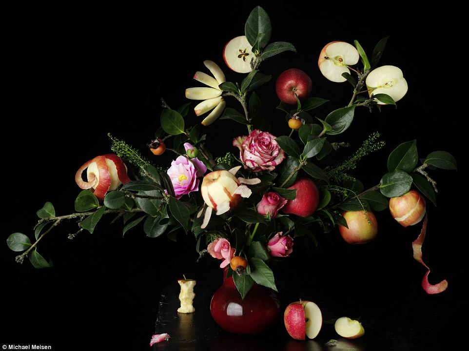 Michael Meisen won thePink Lady An Apple A Day prize for his picture, The Art Of Being An Apple, which shows a bouquet of Pink Lady apples