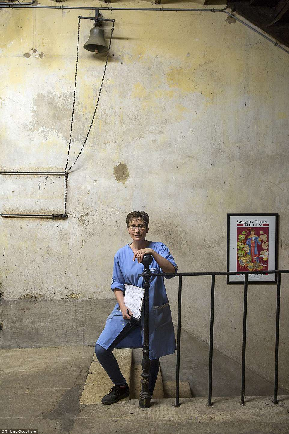 Thierry Gaudillere won in theErrazuriz Wine Photographer of the Year - People category for his image,Worker at Maison Champy, Beaune, Burgundy. Champyis the oldest négociant of wines, founded in Beaune in 1726. It still produces wines in the very centre of the town