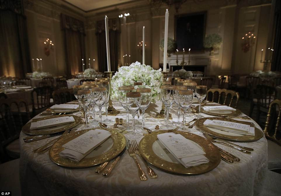 Mrs. Trump has also been doing some homework, educating herself about the protocol and history of these sorts of White House events. This is to ensure her selections for the Macrons' visit have meaning behind them, down to the china, flowers, color scheme and menu, which, while American, will highlight the influence France has had on American cuisine