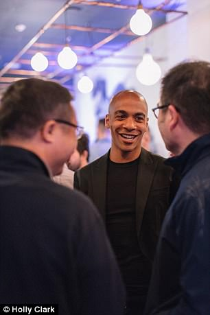 West Ham loanee Joao Mario also lent his support at the brand new Mayfair eatery this week