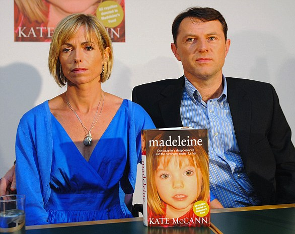 Kate and Gerry McCann mark the fourth anniversary of the disappearance of their daughter Madeleine with the publication of the book written by her mother