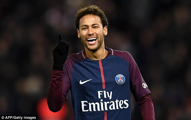 Neymar is among four players nominated for Ligue 1's Player of the Year award