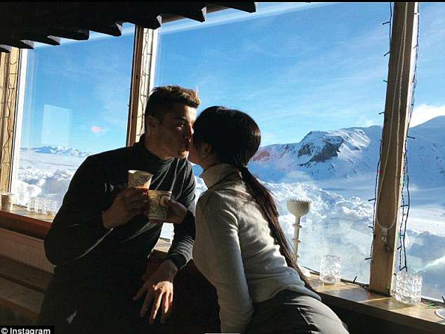 The pair have shared a number of intimate moments on Instagram during their time together