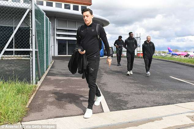 Mesut Ozil is one of a number of big names back in the squad after missing Arsenal's last game