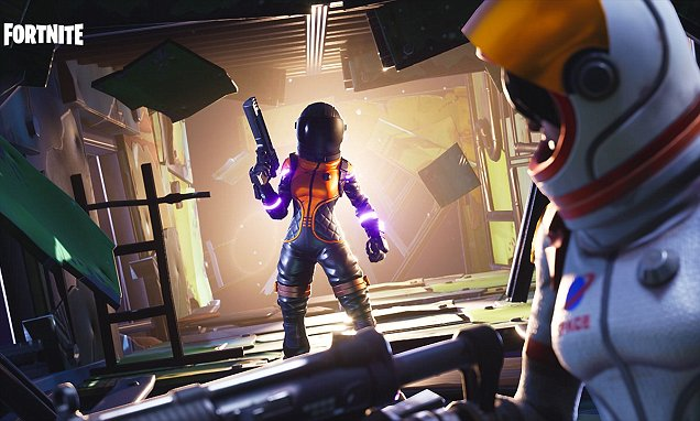 Fortnite Hit With Child Safety Warning By NSPCC Daily Mail Online