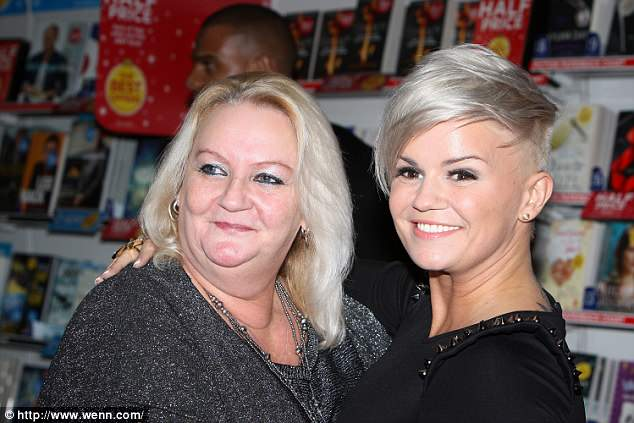 'Didn't know any better':Having previously discussed details of her addiction, she opened up about her first dabble in drugs, which occurred while she was in foster care and visiting her mum (pictured in 2012), who administered the stimulant during a trip to the pub