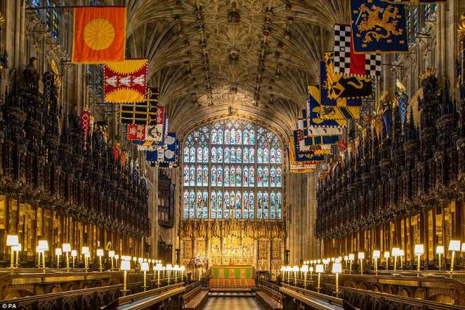 The Quire in St George's Chapel at Windsor Castle, Berkshire, where the royal wedding will be held on May 19.The magnificent Quire was the first part of St George¿s Chapel to be completed and its aisles were finished and roofed between 1477 and 1483