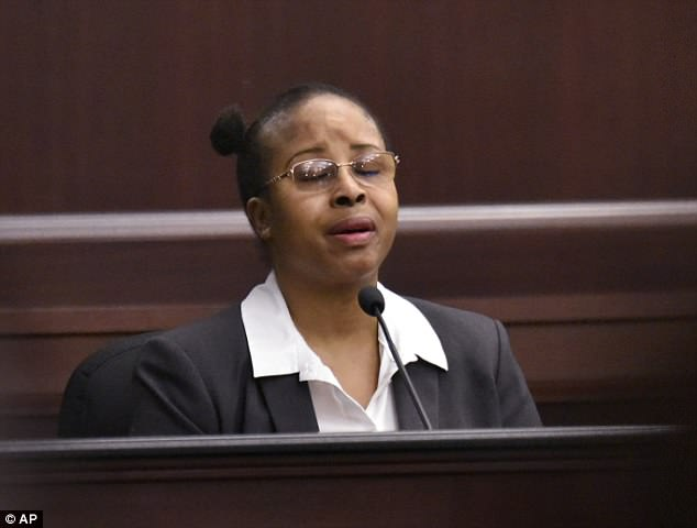 Gloria Williams, 52, described the kidnapping Friday during her sentencing hearing in a Jacksonville courtroom