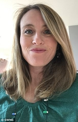 Eileen Posner, 41, lost her long locks after she was diagnosed with an aggressive form of breast cancer