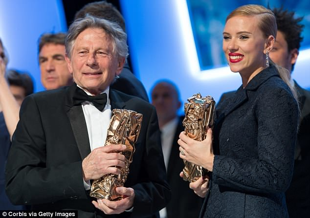 Another one: She also faced bitter outcry in 2014 when she was seen affectionately interacting with convicted child rapist Roman Polanski at the Cesar Film Awards