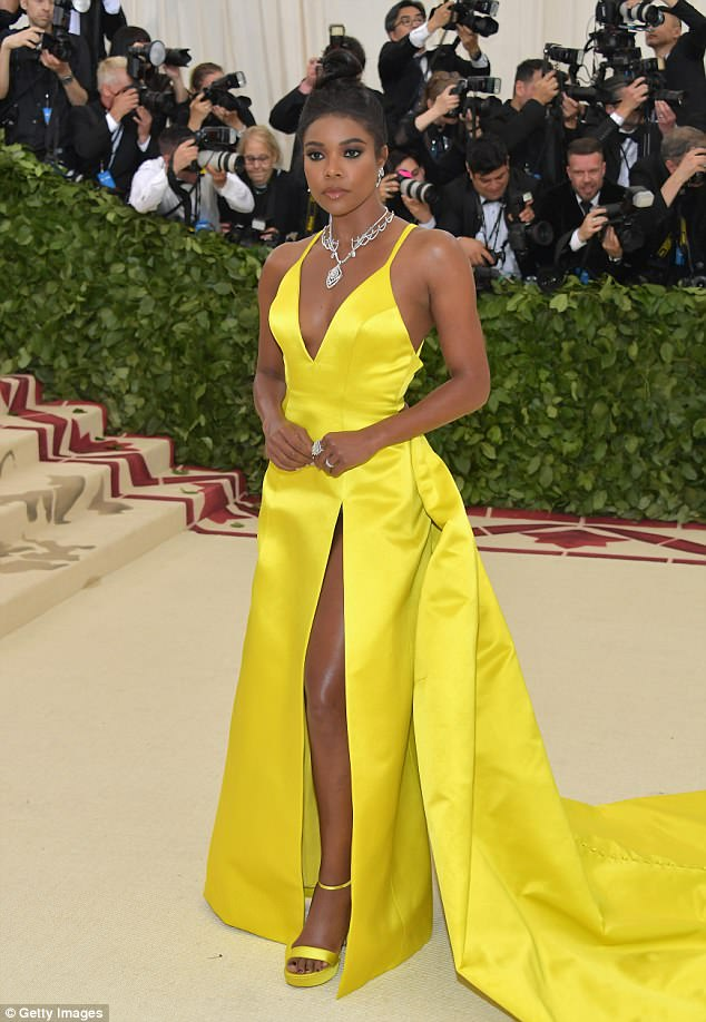 Met Gala Gabrielle Union Is A Burst Of Sunshine In