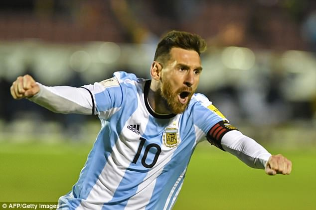 Mourinho also feels Argentina should be seen as one of the favourites with Lionel Messi