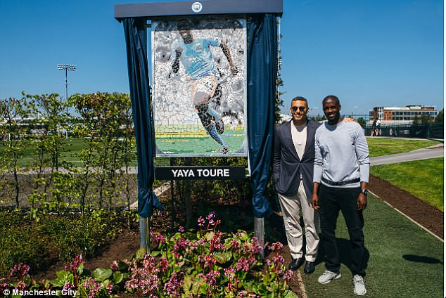 City chairman Khaldoon Al Mubarak has renamed a pitch at the training ground after Toure
