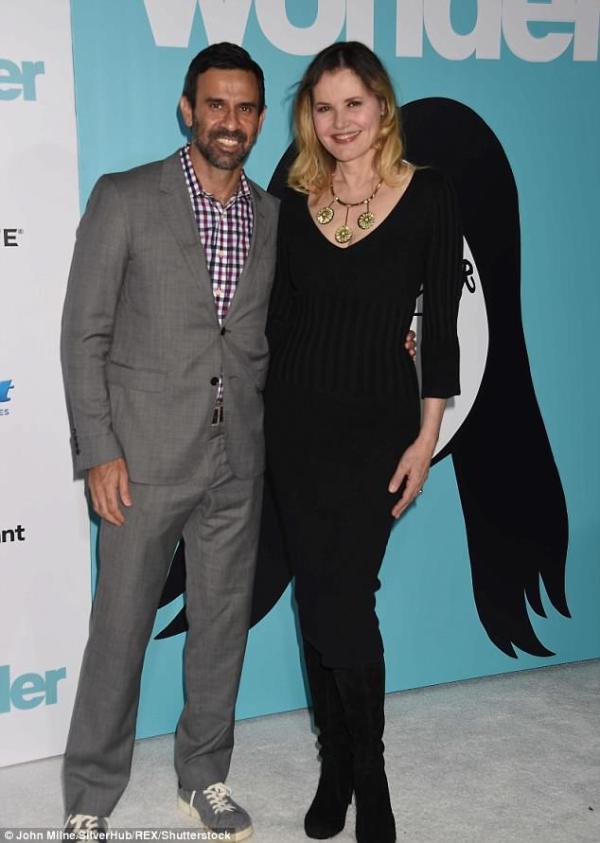 Geena Davis' 4th husband Reza Jarrahy files for divorce ...