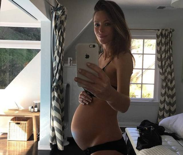 Former Home And Away Star Esther Anderson Proudly Shows Off Her Growing