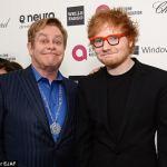 Elton John Says Ed Sheeran's Fame will not last