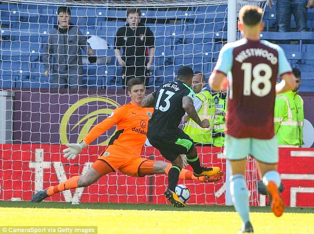 Pope has been a rock in the Burnley goal this season and has earned an unlikely hope