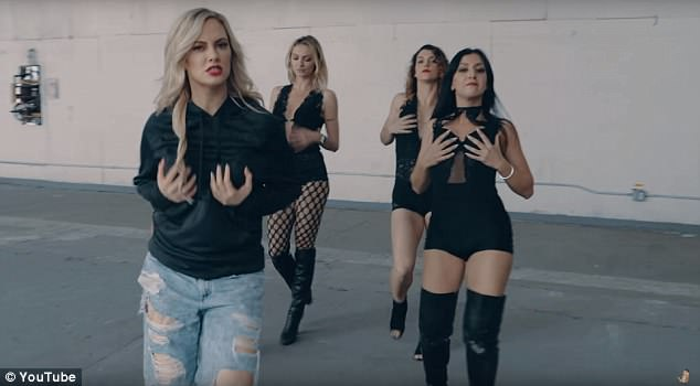 In her rap she addressed how women are objectified for their bodies, but many fired back saying this music video was not the best space to speak on feminist issues