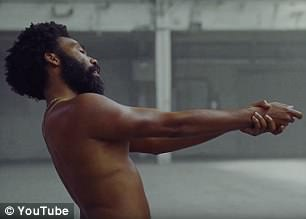 Her video has sparked controversy for 'co-opting' Gambino's powerful message portrayed in his music video