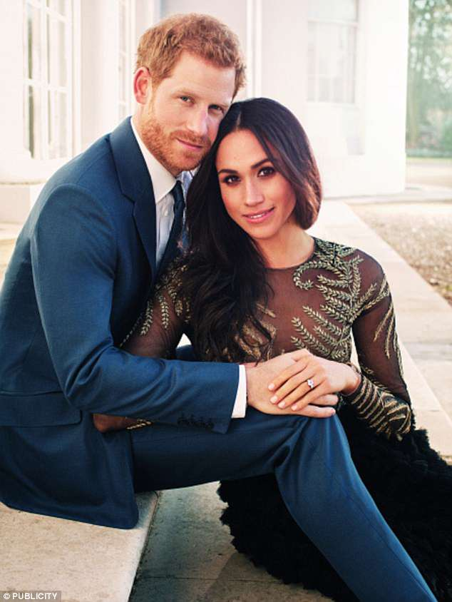 Harry and Meghan are said to be heartbroken by his decision and will try to change his mind with just four days until their wedding