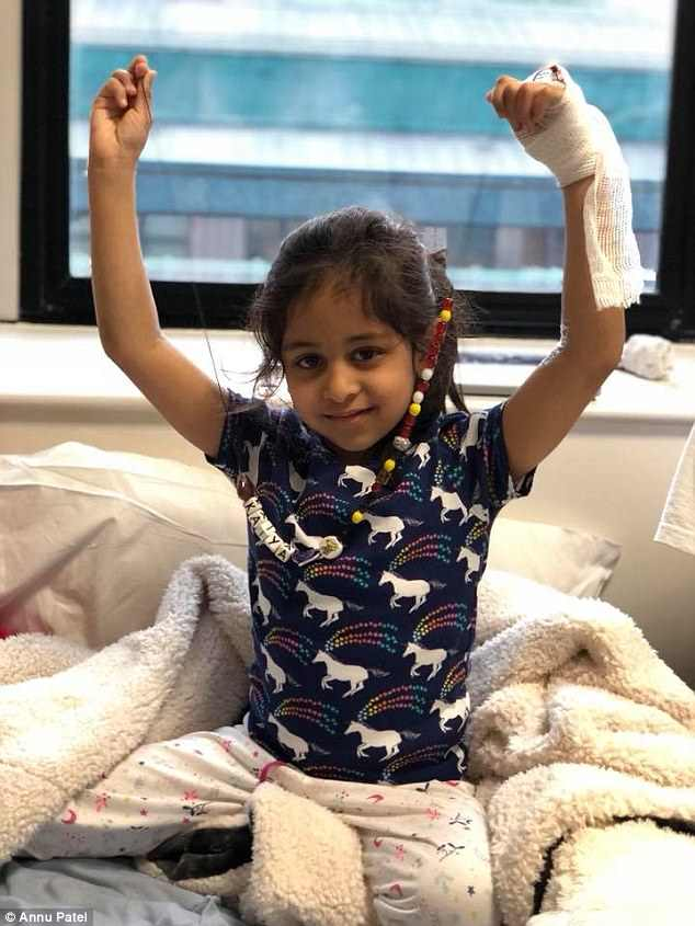 Five year-old Kaiya, from Northwood, needs a stem cell transplant in the next two months if she is to survive her acute lymphoblastic leukaemia