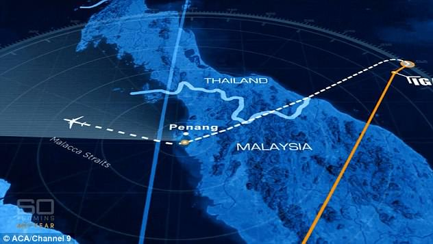 The MH370 pilotcaptain made an unexplained and strange turn to fly over his hometown of Penang