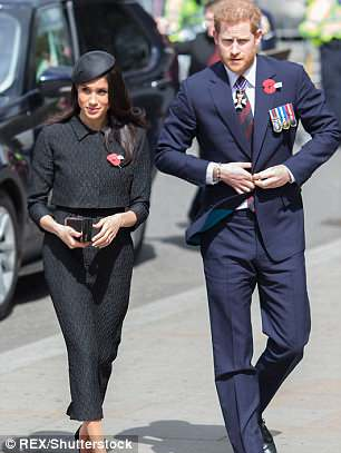 Prince Harry and Ms. Meghan Markle