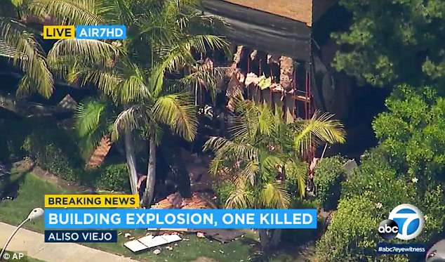 The deadly explosion at this Southern California office building is believed to be an intentional act and a result of a package
