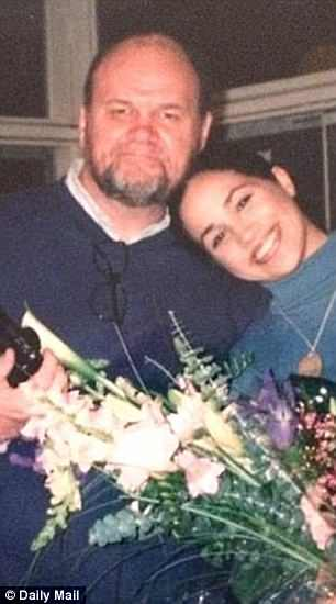 Meghan and her father Thomas