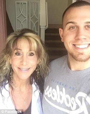 Tyler with his mother Tracy