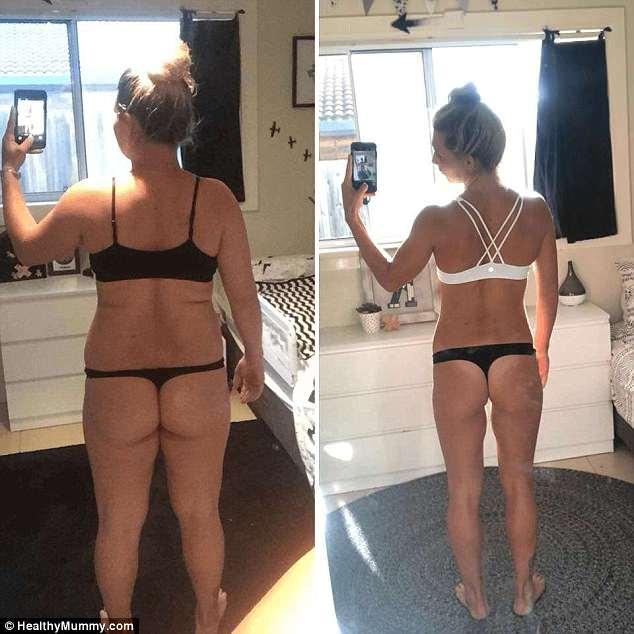 Ms Farley has lost 30 kilograms since overhauling her health regime