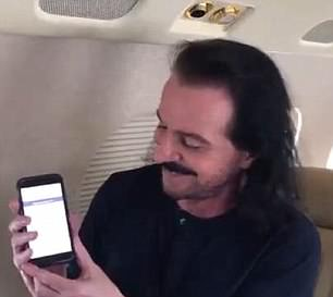 In the video the music legend listens to the audio clip and definitively announces that he hear 'Yanny'