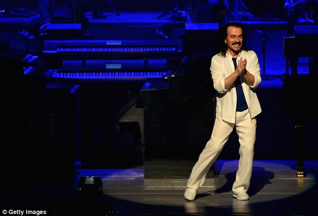 Yanni, real name Yiannis Chryssomallis, is a composer, keyboardist, pianist and producer. At least 16 of his albums have peaked at No. 1 in Billboard's Top New Age Album category