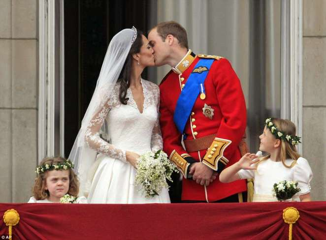 A record 26million people tuned in to watch Prince William marry the Duchess of Cambridge in April, 2011, while a national bank holiday was declared
