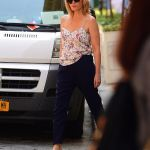 SATC Star,Kim Cattrall Spotted wih boyfriend in Manhattan