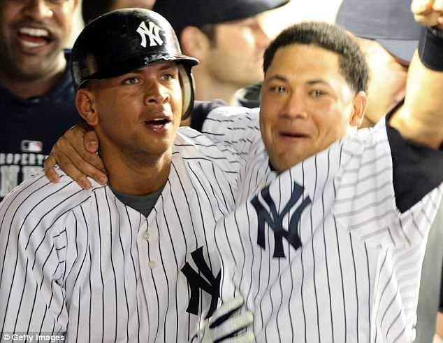 During his time with the Yankees, Cano was known to have been close with Alex Rodriguez (left) and Melky Cabrera (right). A-Rod and Cabrera were also suspended by baseball for using banned substances