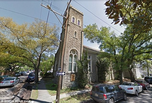 Out of use: According to TMZ , the over-a-century-old church was listed at $850,000 (£631,000) and is 7,500 square foot, and has been out of use as a religious place for a while