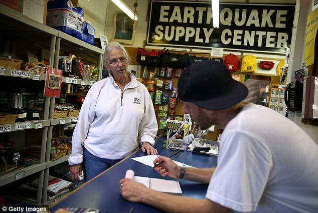 Days after an earthquake rocked Napa, California, San Francisco Bay Area residents are stocking up on emergency earthquake supplies. Shelves at hardware and surplus stores are being cleared of water, water filters, first aid kits, earthquake preparedness strapping and propane cans