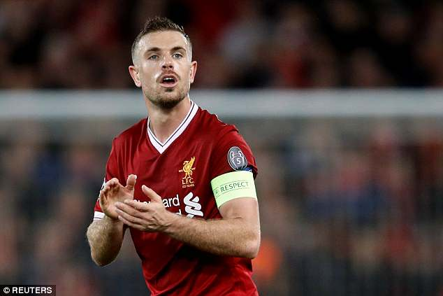 Henderson has led Liverpool to the Champions League final but will not captain England