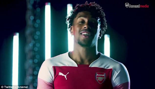 The video features players such as Alex Iwobi talking about playing football growing up