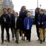 Angelina Jolie set to film Maleficent 2 in London but her children won't be going with her