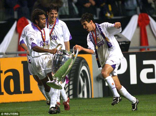 Fernando Morientes won the Champions League three times as a Real Madrid player