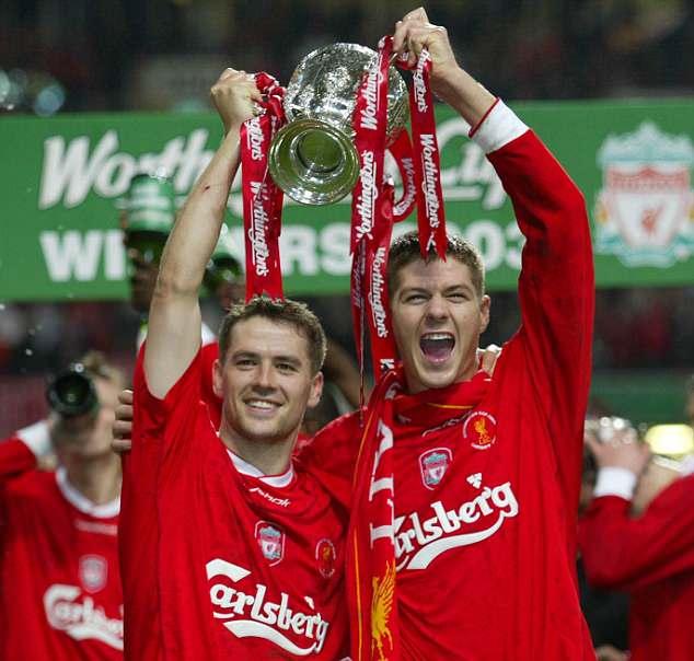 Michael Owen scored an impressive 158 goals in 297 games as a Liverpool striker