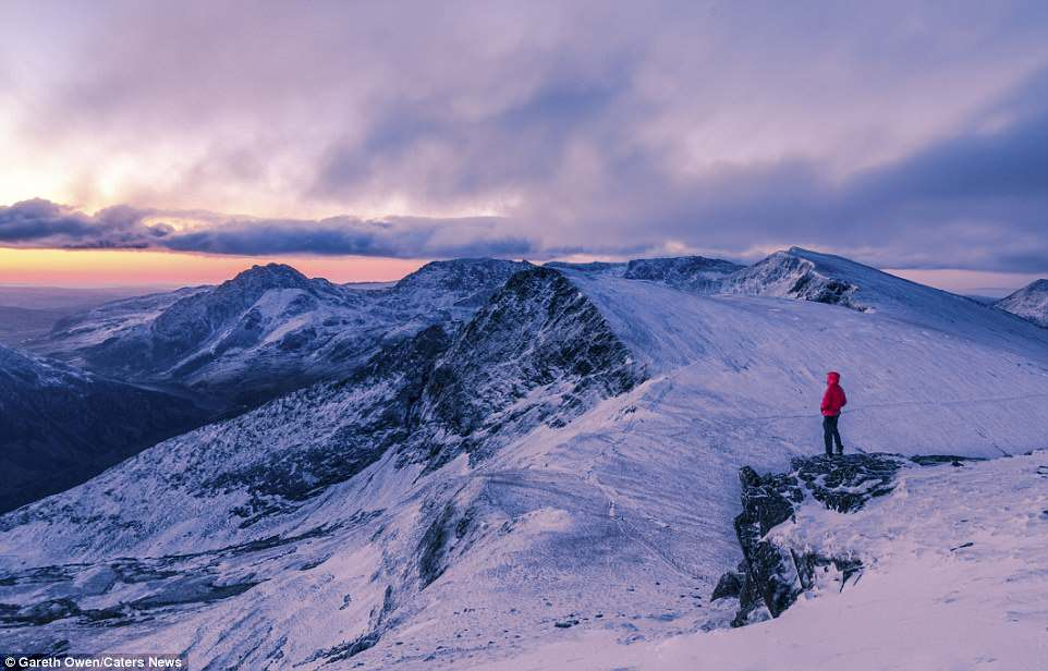 Mr Owen, from Gwynedd, said: I enjoy the fact you don't need to travel far to get epic locations, we are lucky in the UK having some of the most dramatic and beautiful national parks in the world'