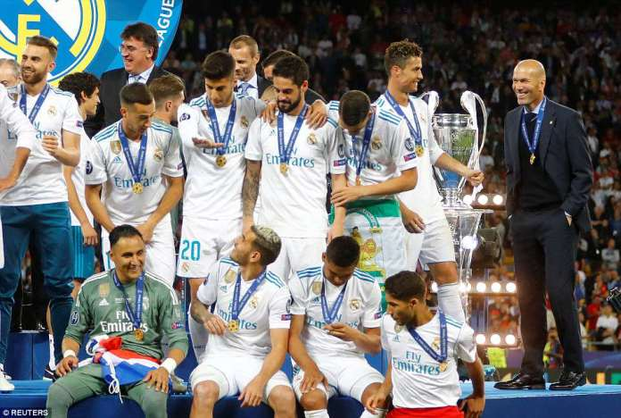 Zinedine Zidane has led Madrid to yet another European triumph following their tough domestic season