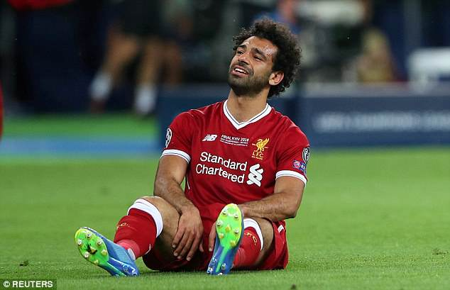 Salah said he is optimistic that he can recover in time to take part in the World Cup