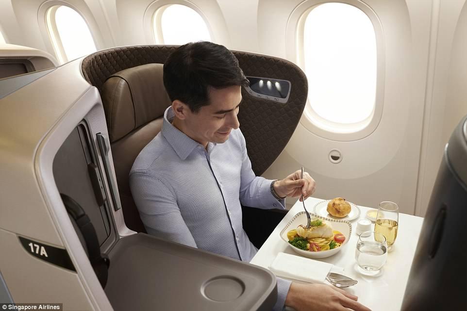 Inside Singapore Airlines Stunning New 787 10 Dreamliner