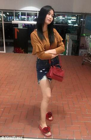 Nong Gift, 21, had been watching the Champions League final with friends last Saturday in Chanthaburi, Thailand