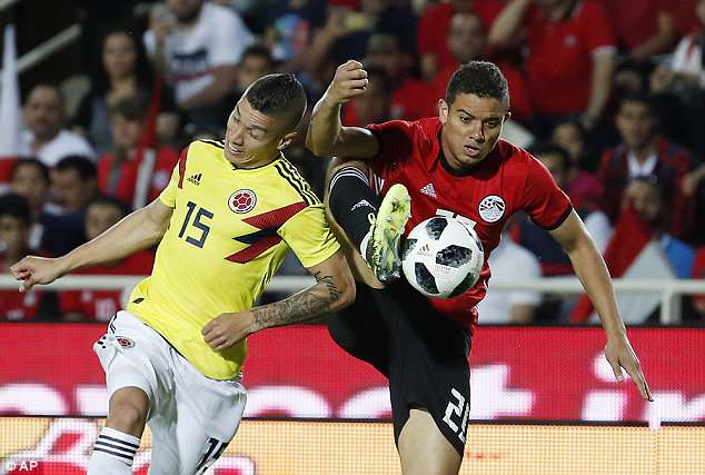 Egypt are hoping to make an impact at their first World Cup finals appearance since 1990